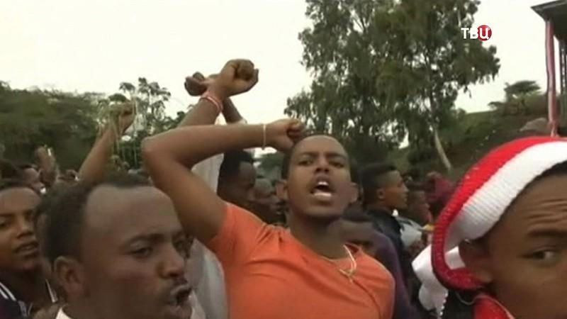 Давка в Эфиопии