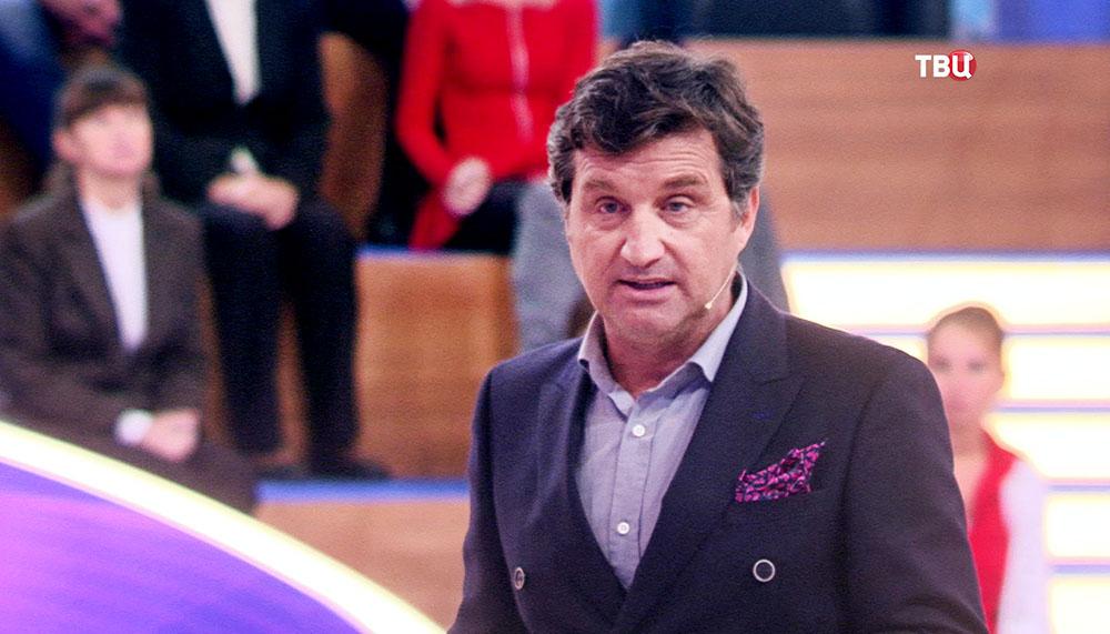 """Ведущий ток-шоу """"Естественный отбор"""" Отар Кушанашвили"""