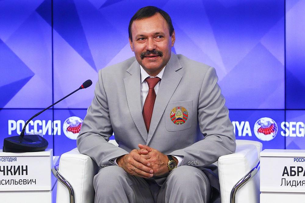 Начальник отдела зимних видов спорта управления спорта министерства спорта и туризма Белоруссии Андрей Фомочкин