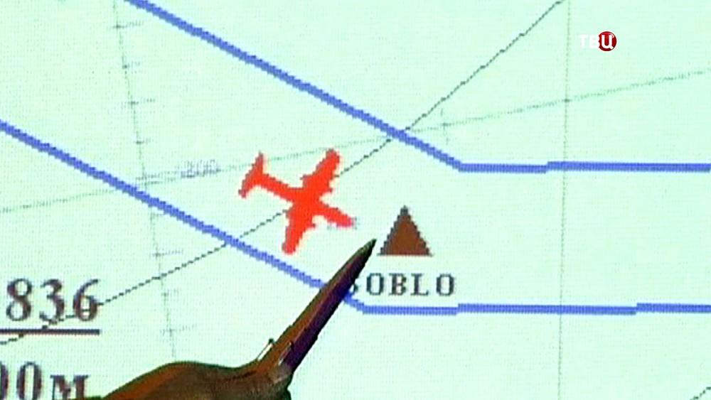Расследование авиакатастрофы Ту-154 над Черным морем