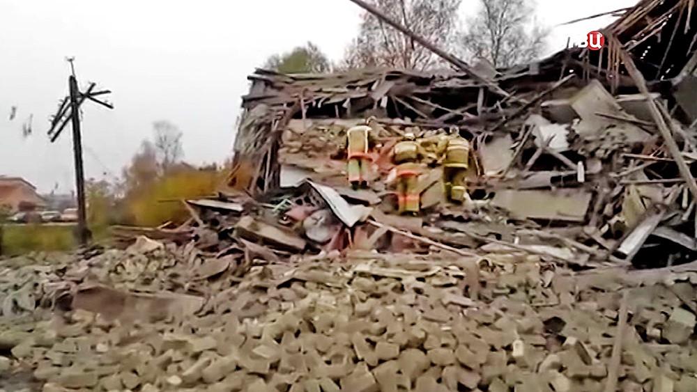 Последствия взрыва газа в жилом доме
