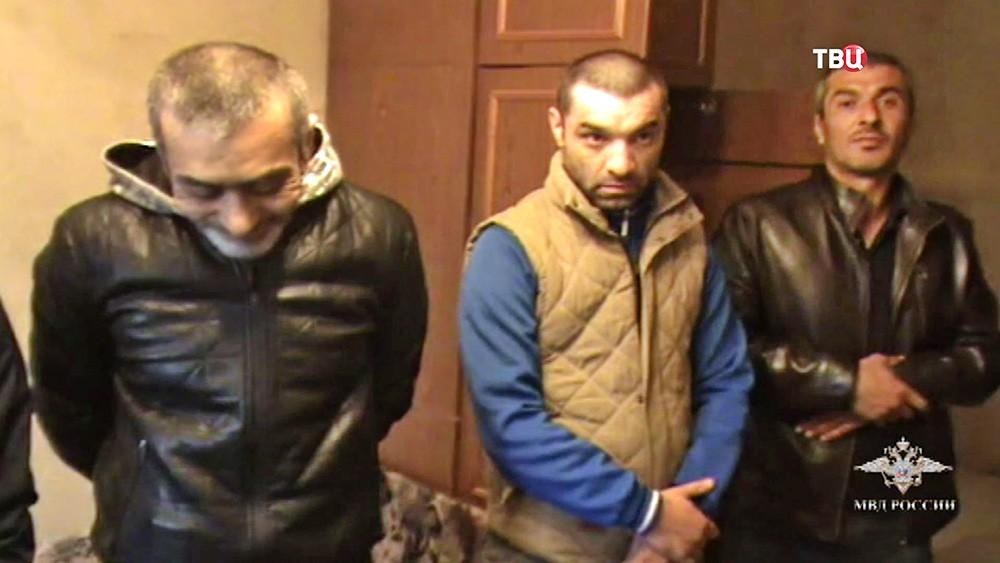 Задержанная банда фальшивомонетчиков