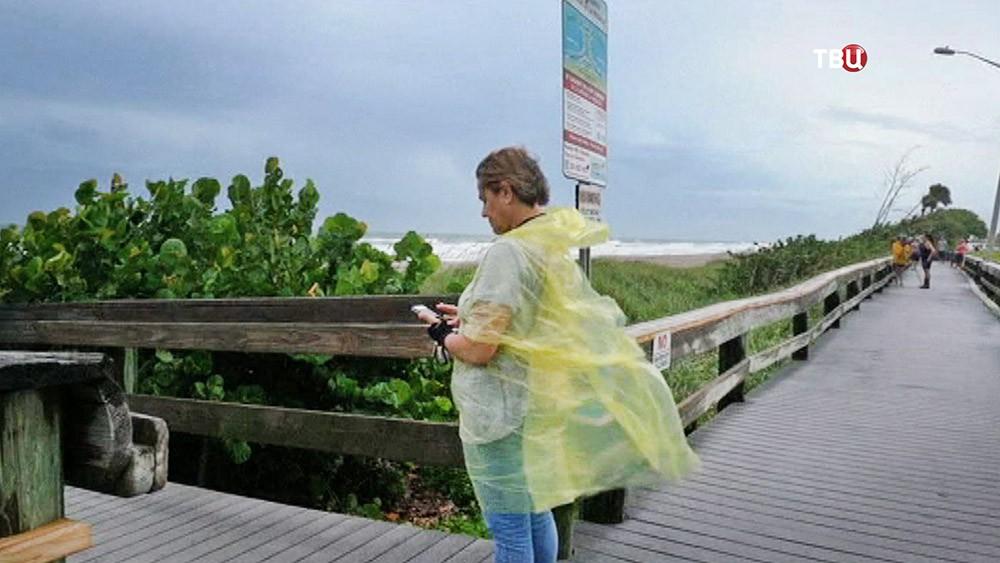 Приближение урагана