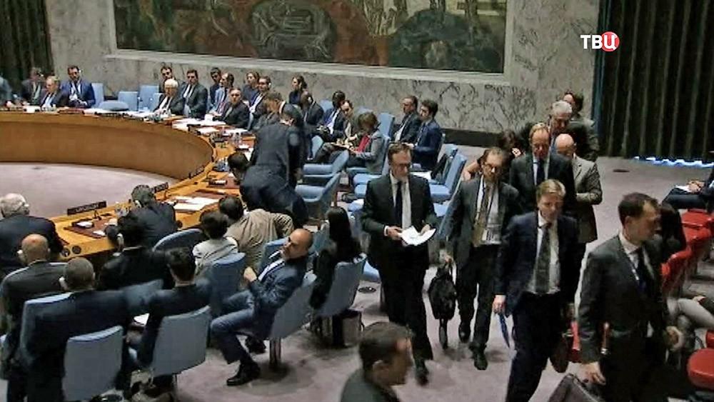 Представители США покидают заседание совбез ООН