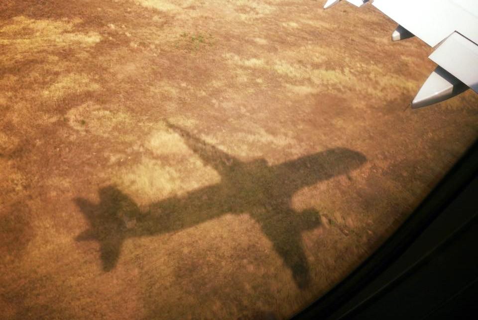 Тень самолета