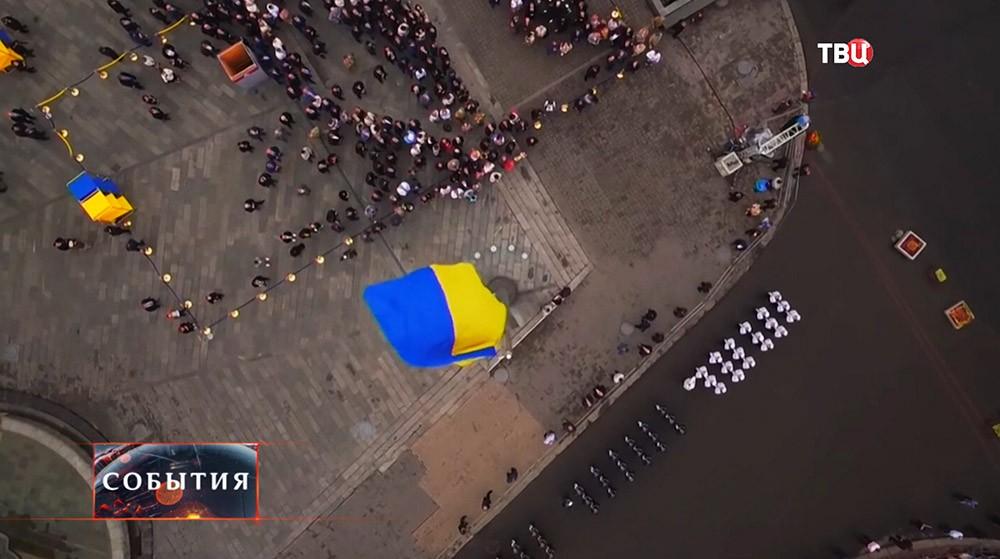 """Смотрите в 22:30 специальный репортаж """"Украина. Кривая независимости"""""""