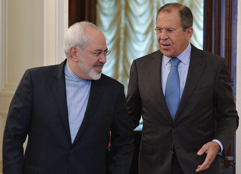 Глава МИД России Сергей Лавров и глава МИД Ирана Мухаммед Джавад Зариф