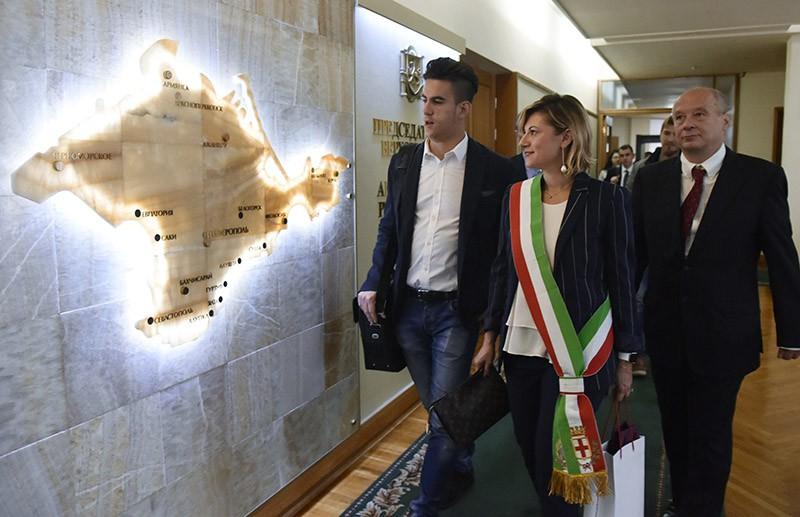 Депутаты региональных советов и представители делового сообщества Италии в Крыму