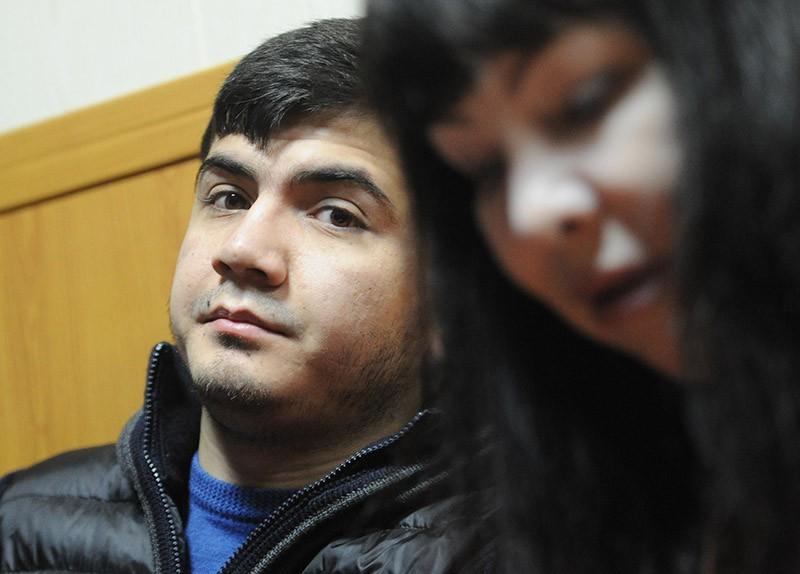 Абдувахоб Маджидов в зале суда