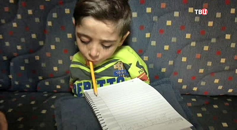 Сирийский мальчик Махмуд