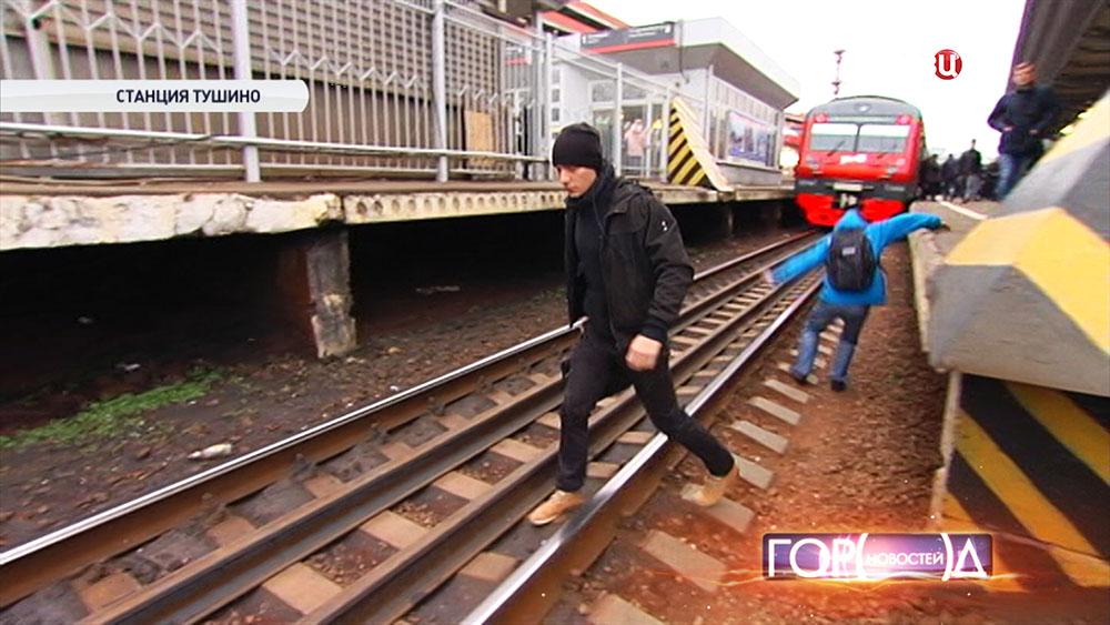 Нарушители правил проезда в пригородных поездах