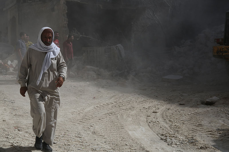 Житель Алеппо, Сирия