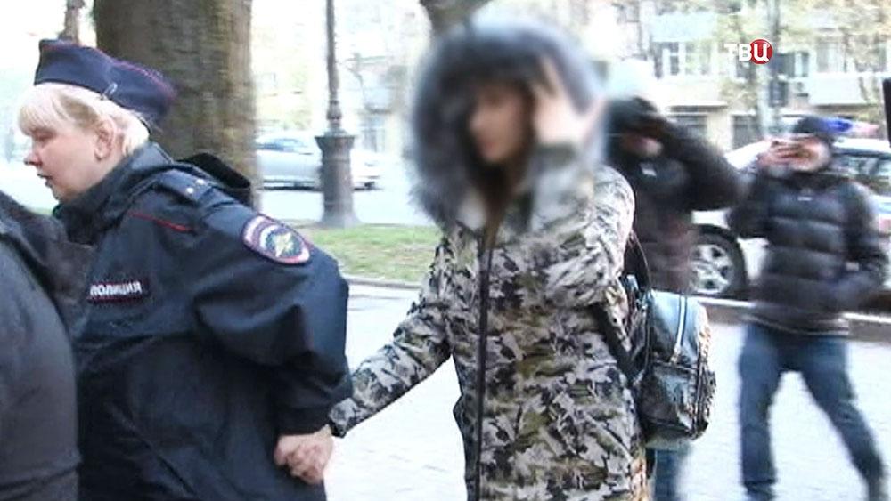 Арест студентки-живодерки в Хабаровске