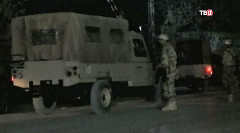 Последствия атаки на академию полиции в Пакистане