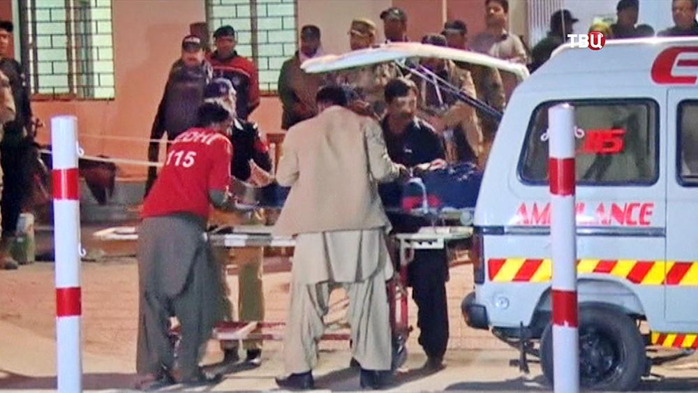 Скорая помощь Пакистана