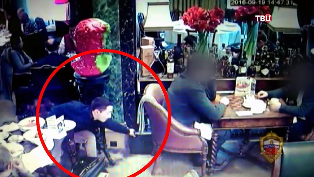 Ограбление в ресторане