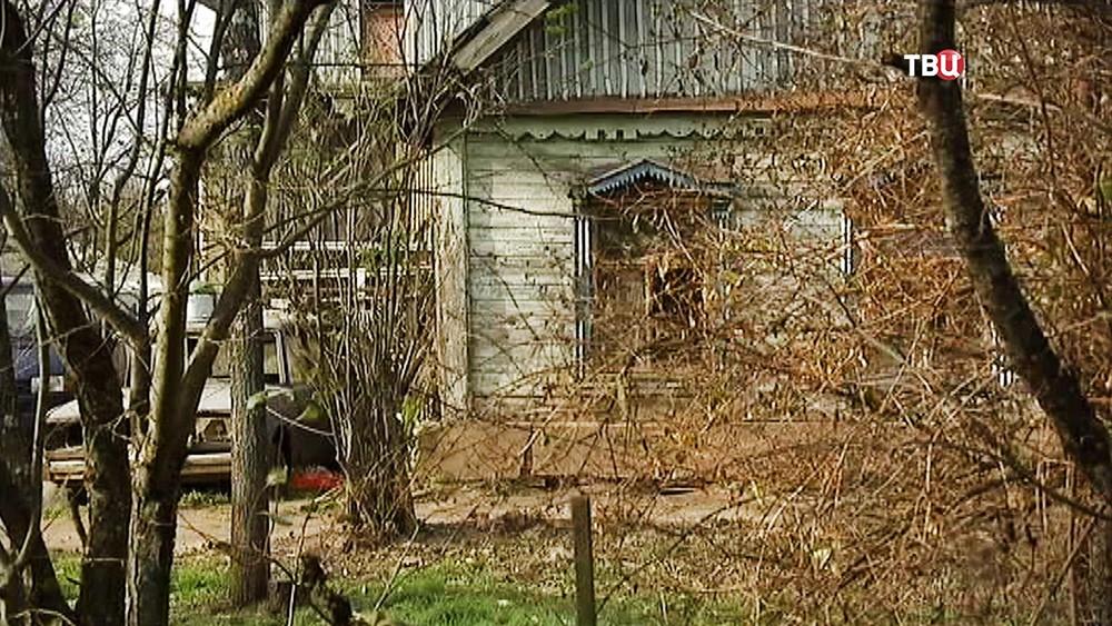 Старый дачный дом
