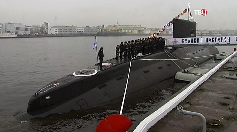 """Подлодка """"Великий Новгород"""""""