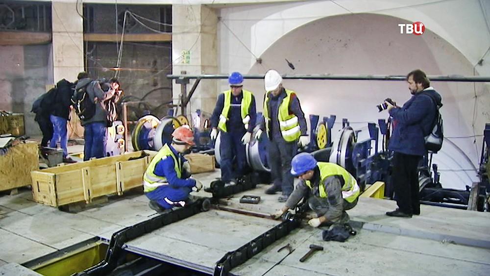 Ремонт эскалаторов в метро