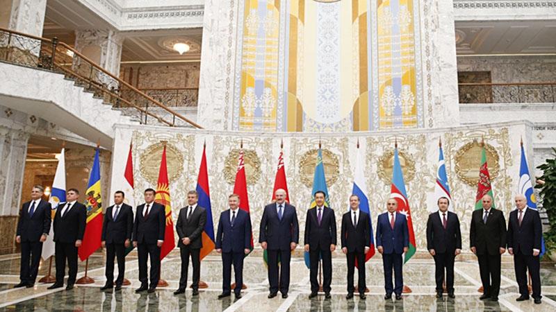 Заседание Совета глав правительств стран СНГ