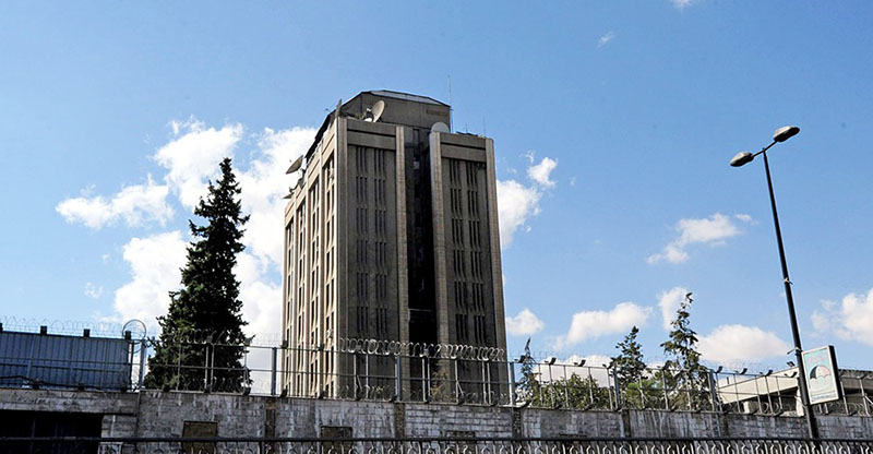Здание посольства России в Дамаске