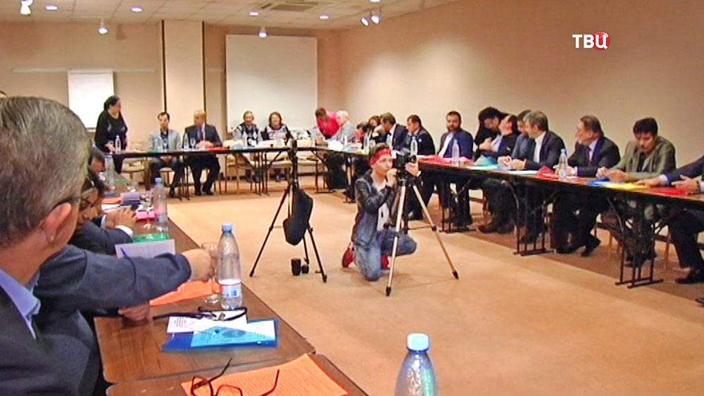 Пресс-конференция посвященная фестивалю цыганской культуры