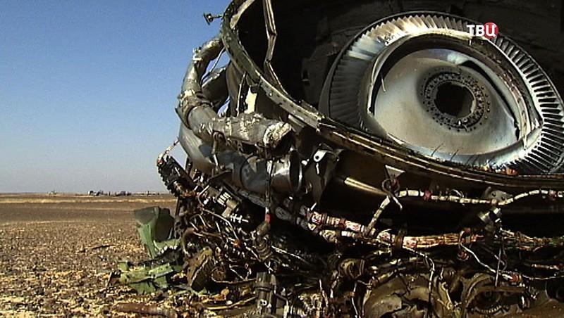 Обломки самолета А321