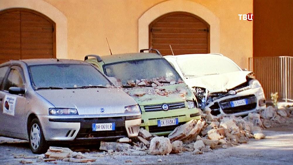 Последствия землетрясения в Италии