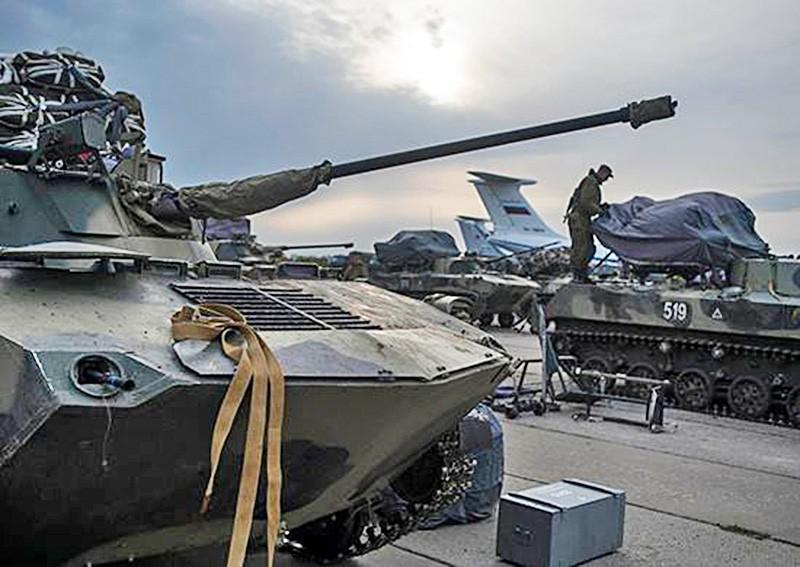 Переброска военной техники