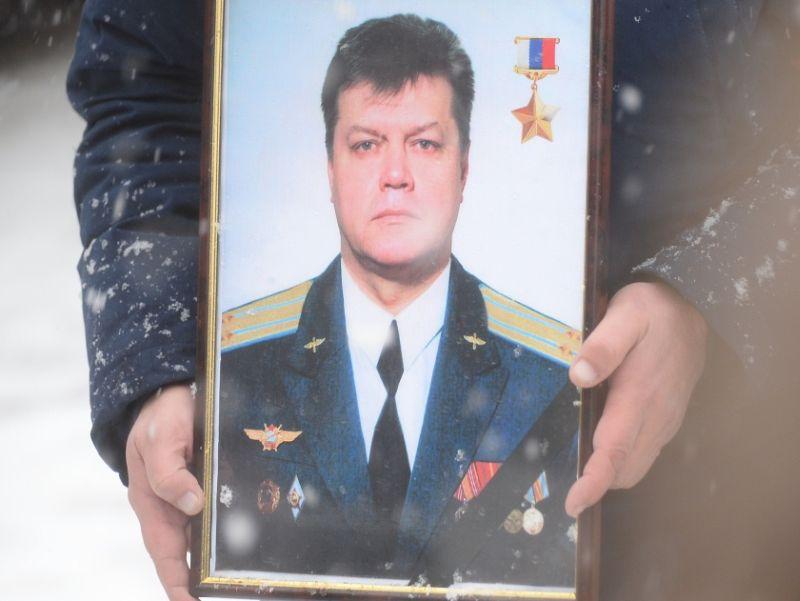 Портрет Олега Пешкова