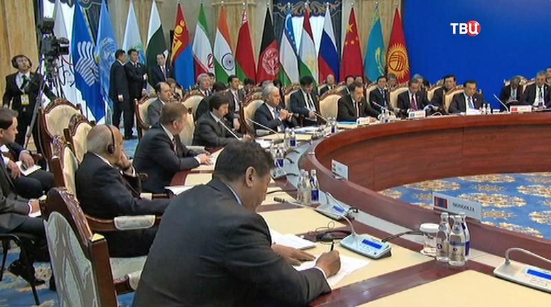 Заседание Совета глав правительств Шанхайской организации сотрудничества