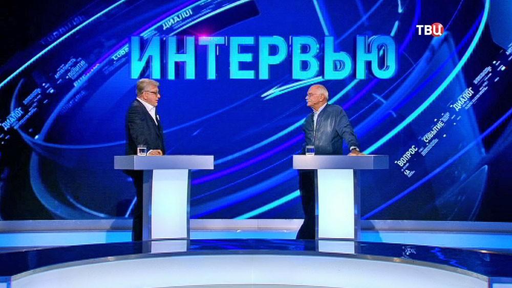 """Кинорежиссер Никита Михалков в программе """"Право знать!"""""""