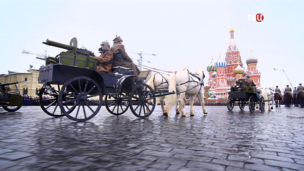 Марш в честь парада 1941 года на Красной площади