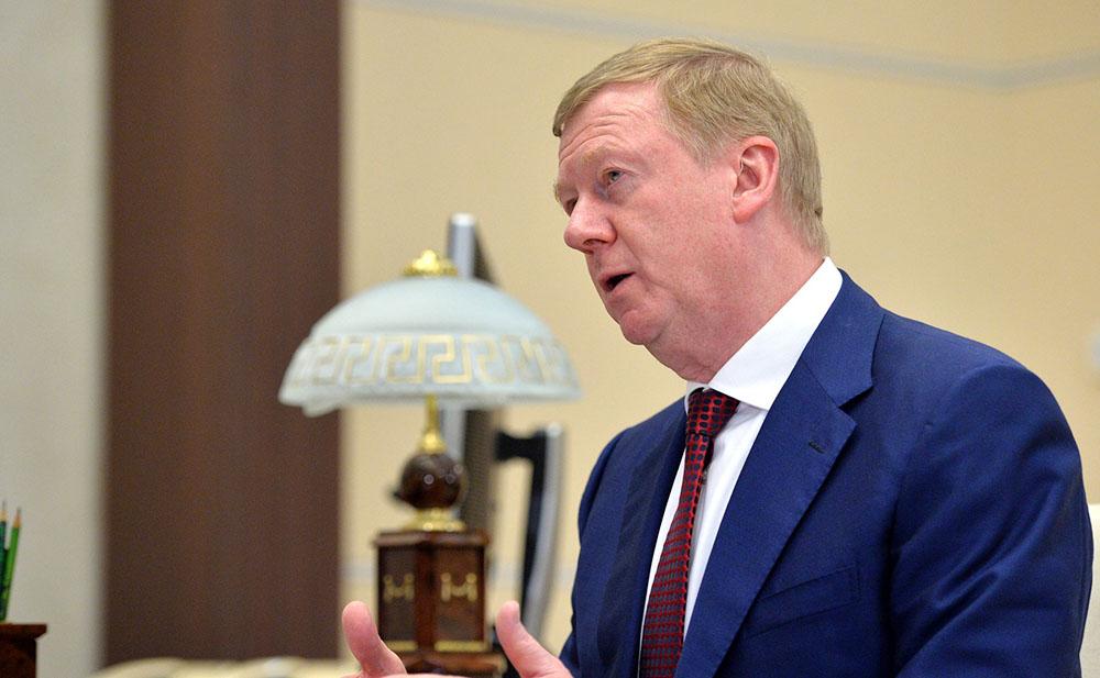 """Председатель правления УК """"РОСНАНО"""" Анатолием Чубайс"""