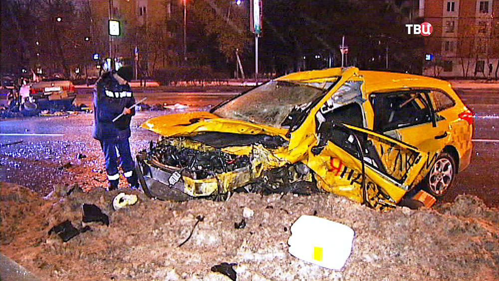 Последствия ДТП с участием такси