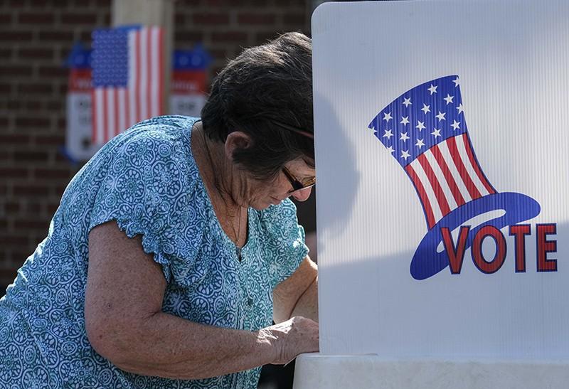Избирательный участок в США