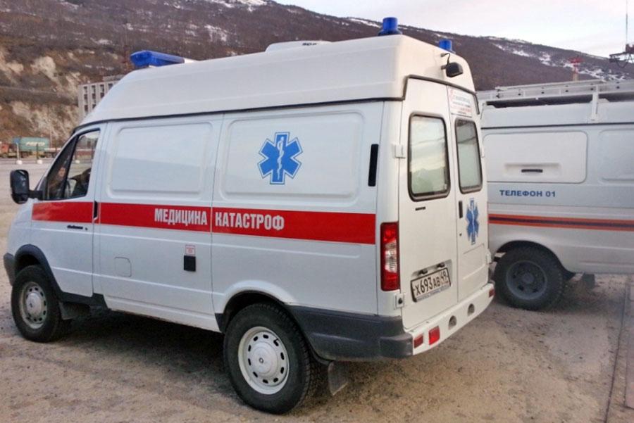 Автомобиль медицины катастроф Магаданской области