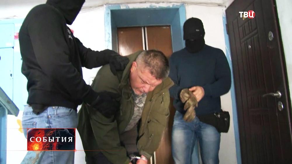 Задержание украинского диверсанта Дмитрия Штыбликова