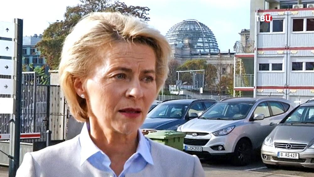 Министр обороны Германии Урсула фон дер Ляйен