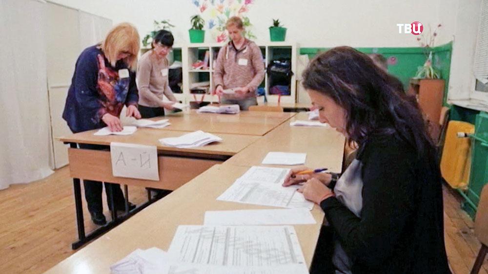 Выборы в Болгарии