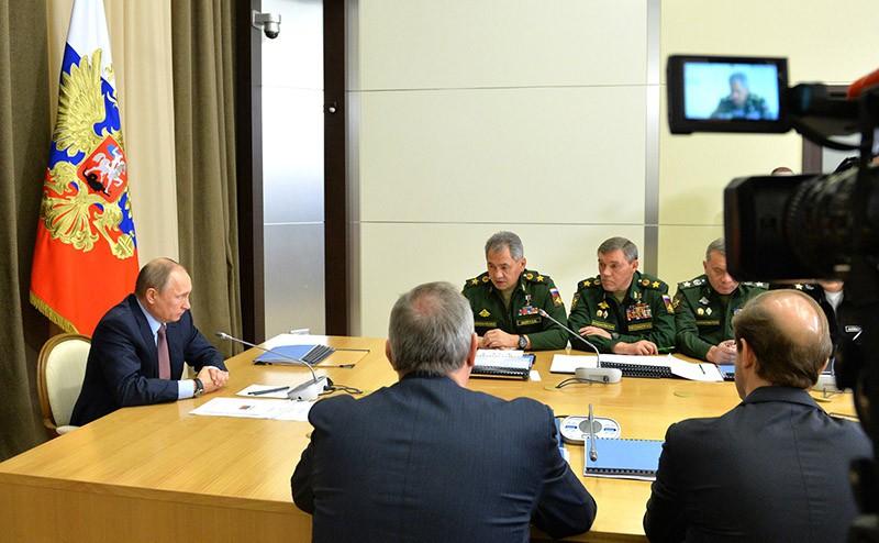 Совещание с руководящим составом Министерства обороны России, федеральных ведомств и предприятий ОПК