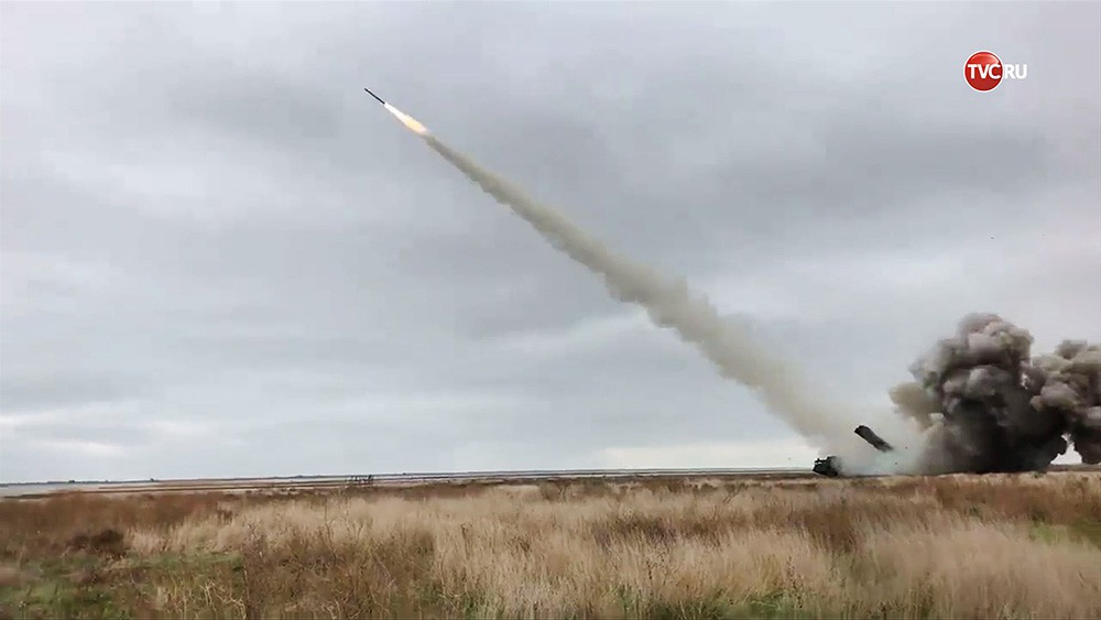 Пуск новой украинской ракеты