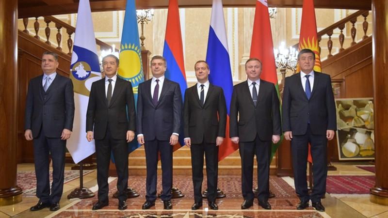 Заседание Евразийского межправительственного совета