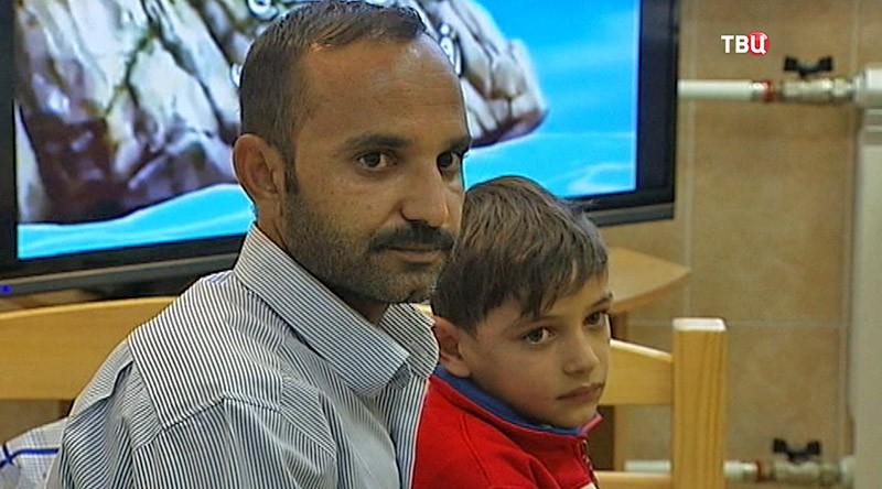 Жители Сирии в Москве