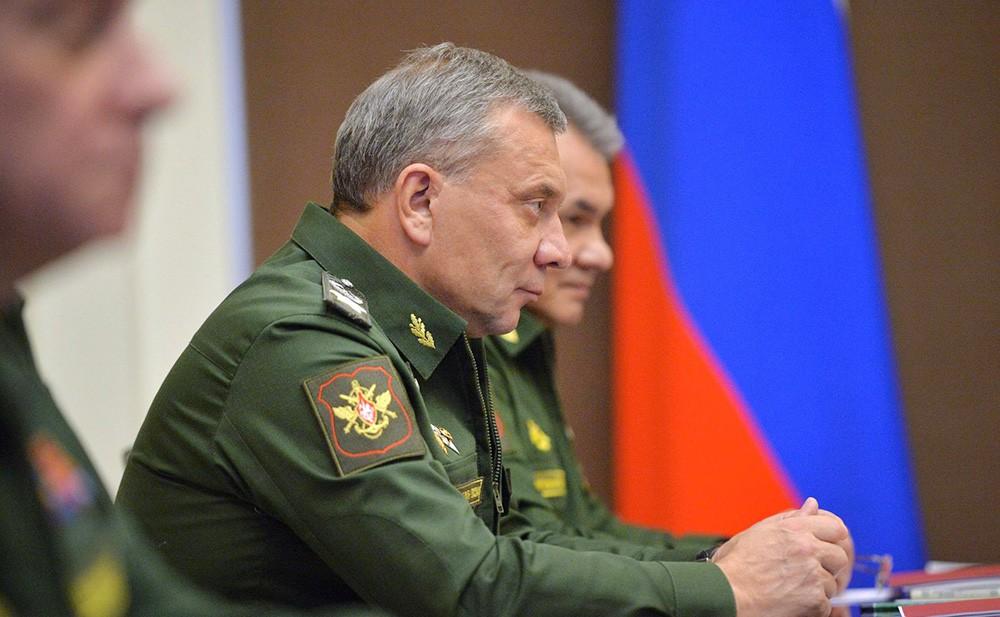 Заместитель Министра обороны Юрий Борисов