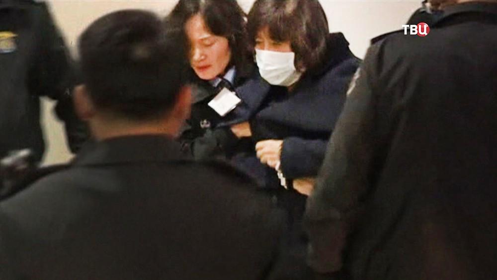 Задержанна приближенная к президенту Южной Кореи Пак Кын Хе