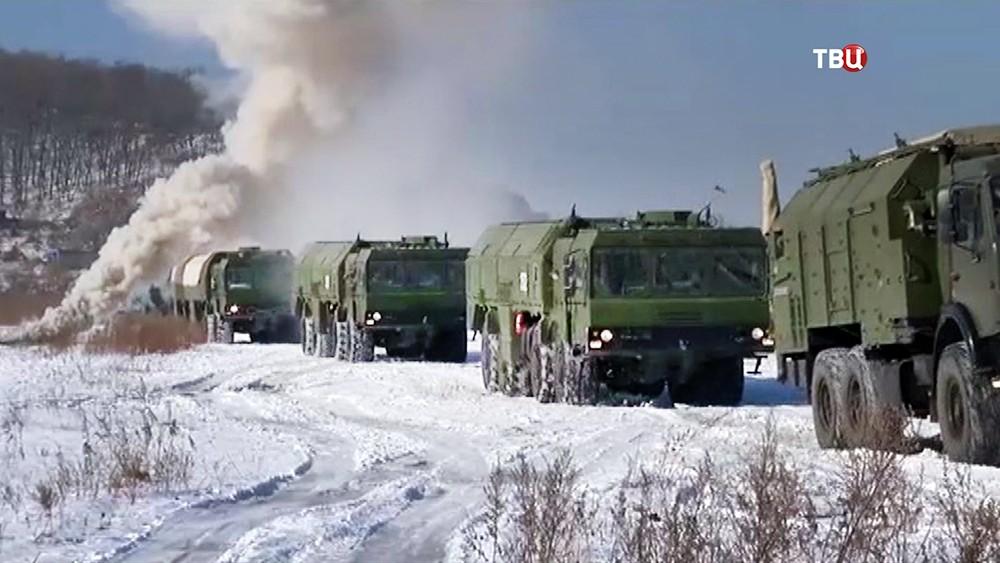 Учения ракетных войск