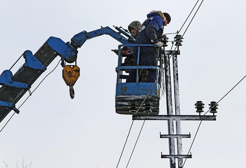 Ремонт линий электропередач