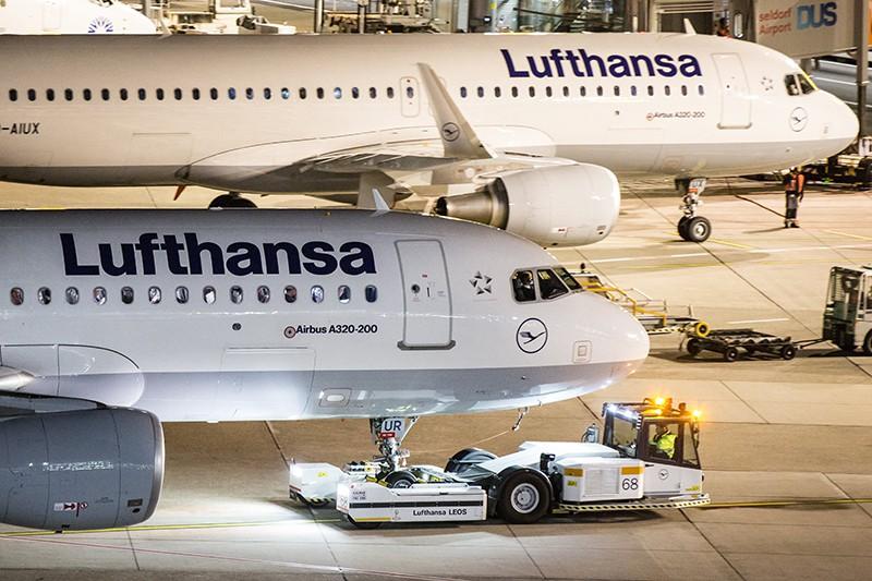 Самолеты авиакомпании Lufthansa