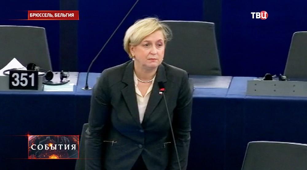 Евродепутат от Польши Анна Фонтыга